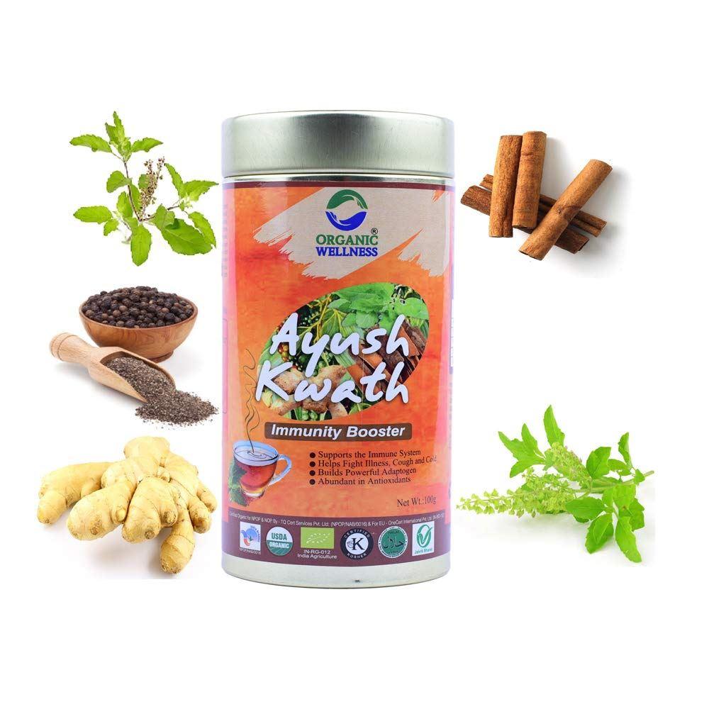 Organic Wellness Ayush Kwath (100g)