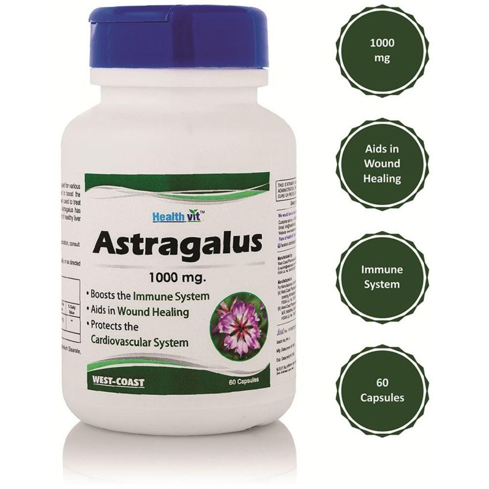 Healthvit Astragalus 1000Mg (60caps)