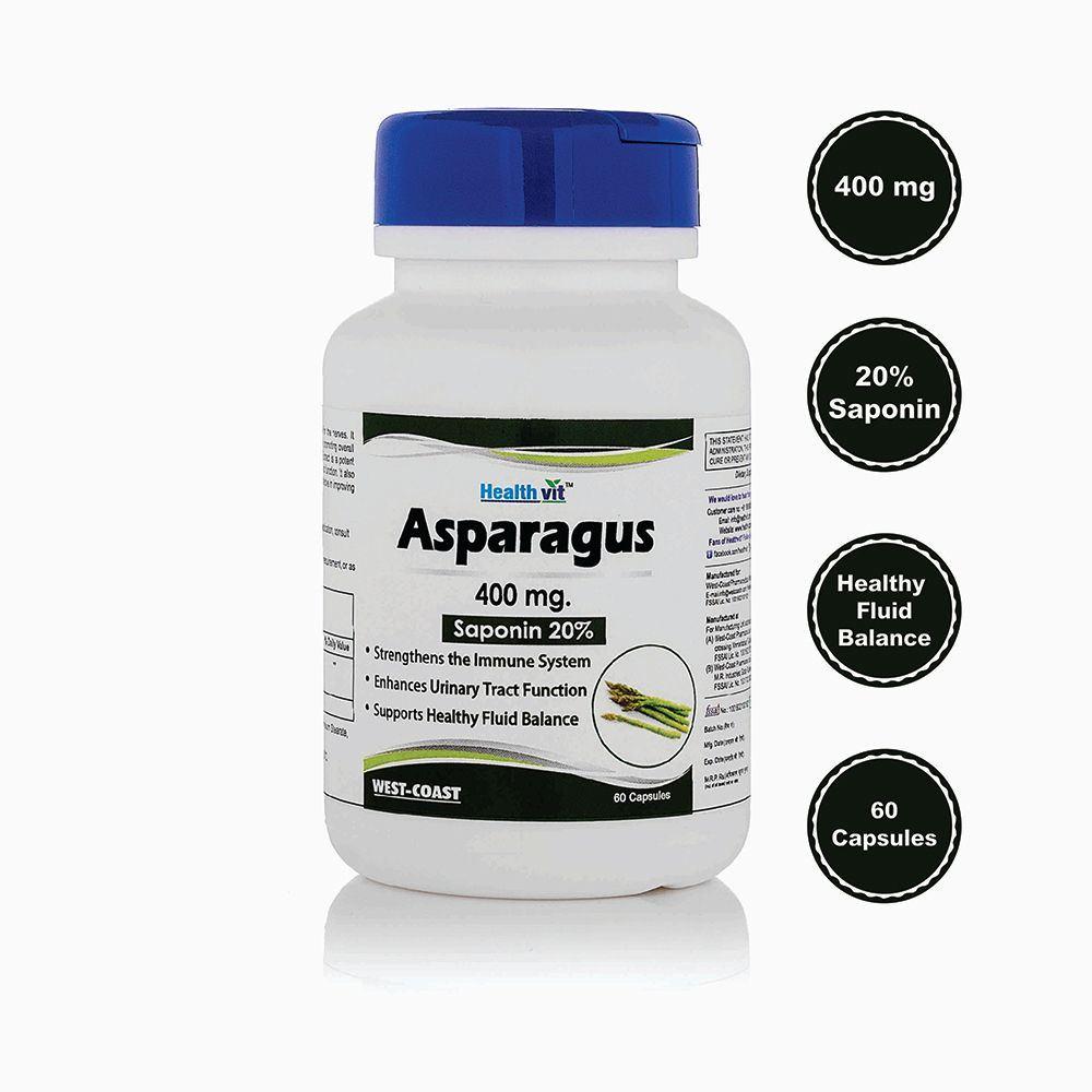 Healthvit Asparagus 400Mg (60caps)