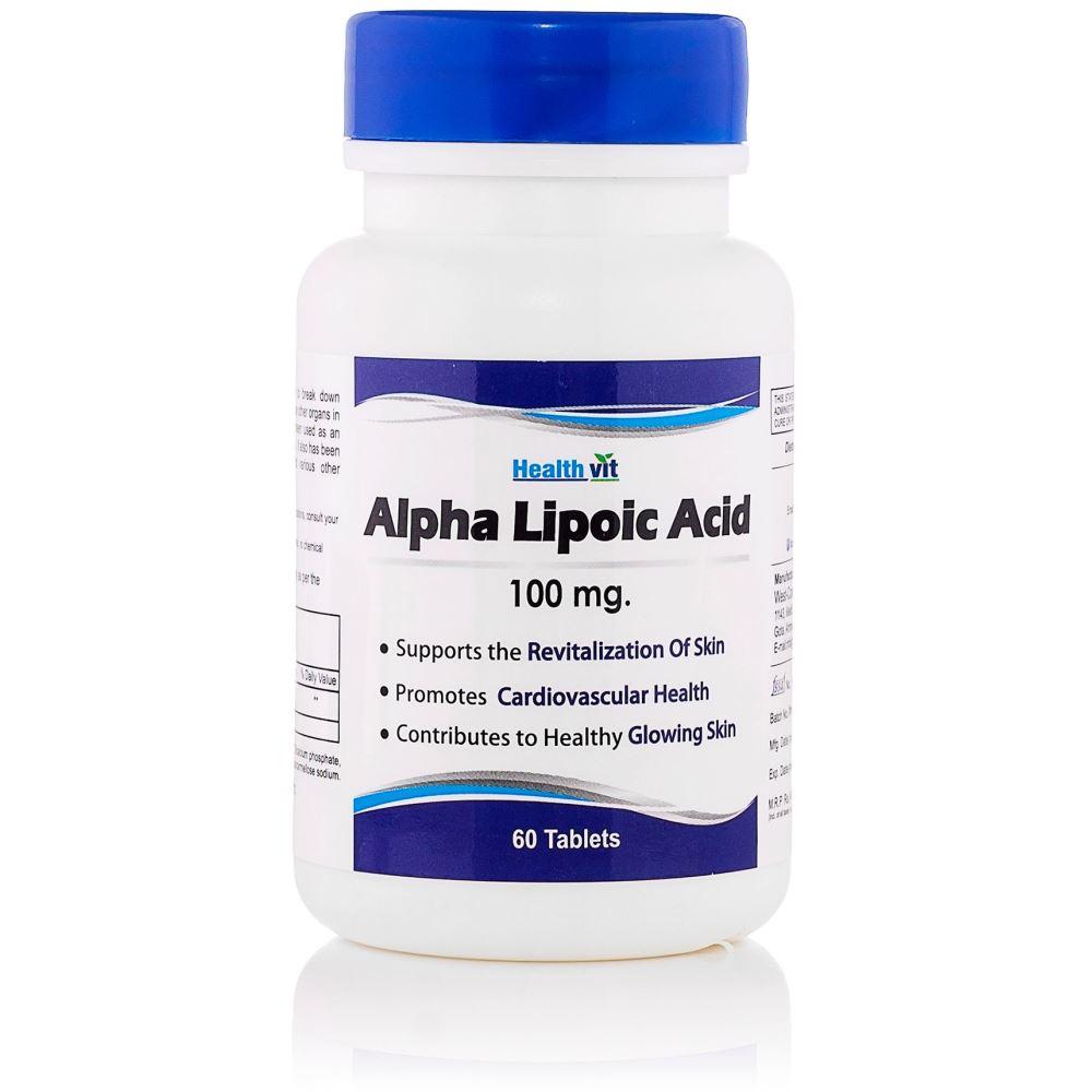 Healthvit Alpha Lipoic Acid 100Mg (60tab)