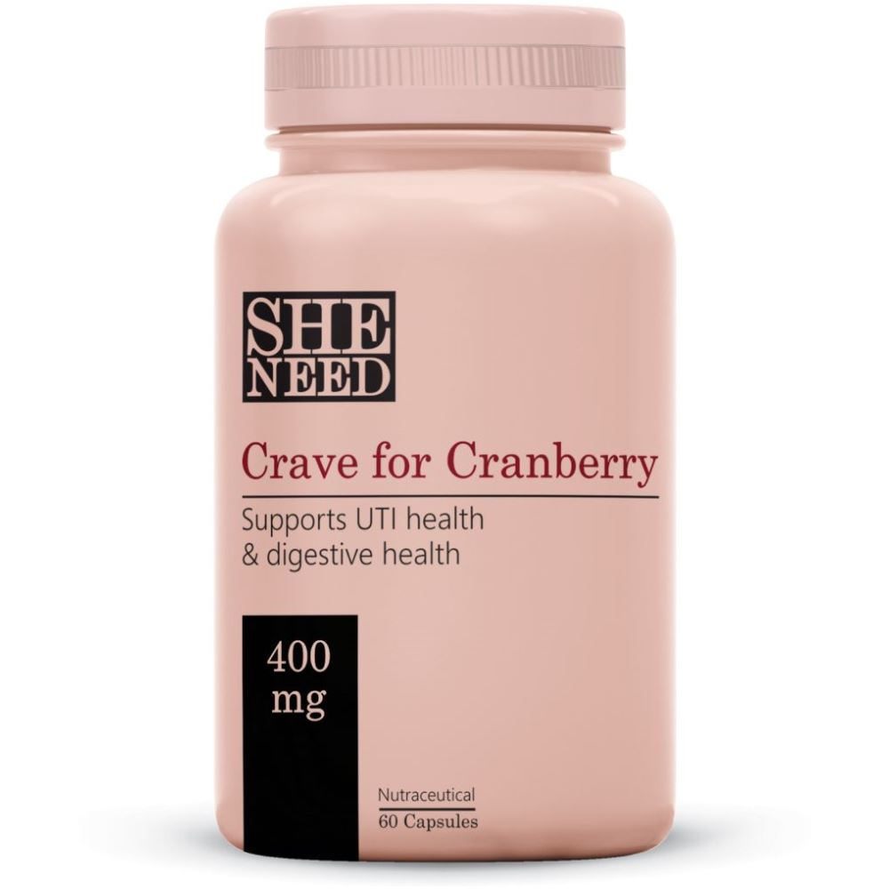 SheNeed Crave For Cranberry Supplements (400Mg) (60caps)