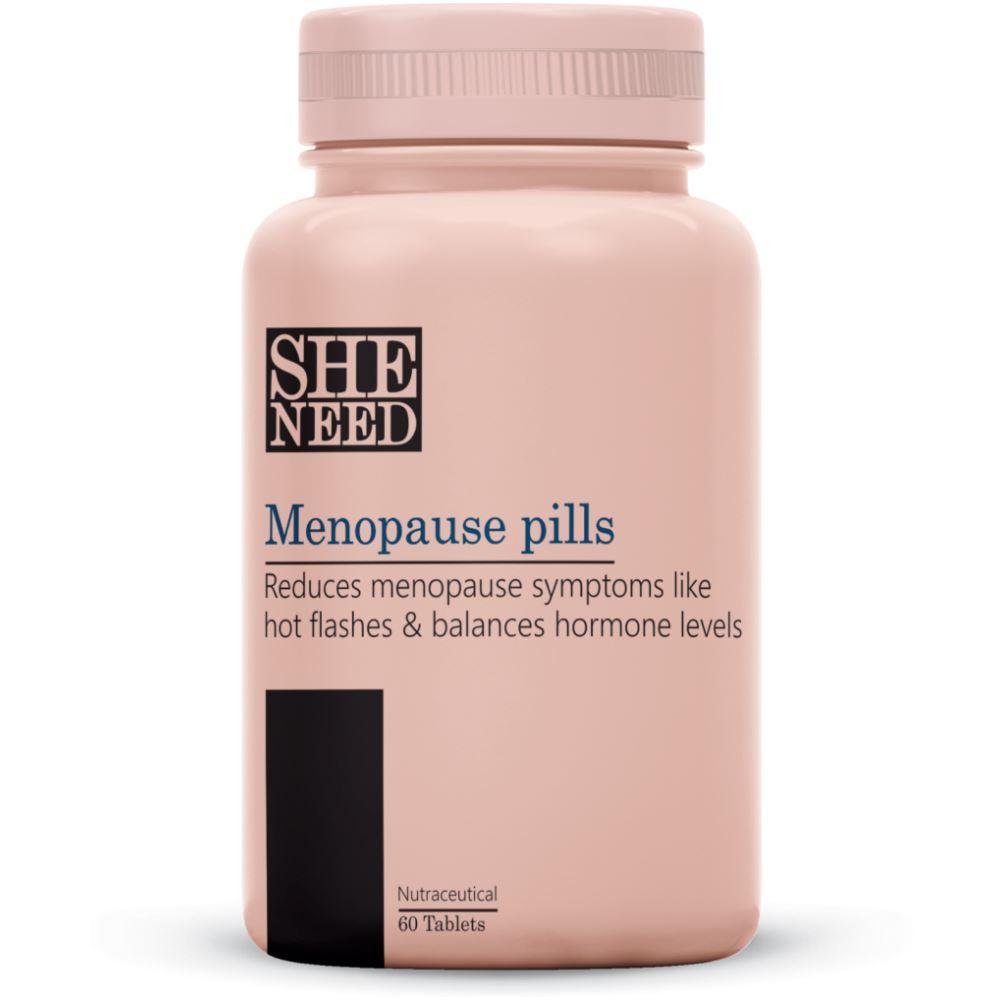 SheNeed Menopause Pills Supplements (60tab)