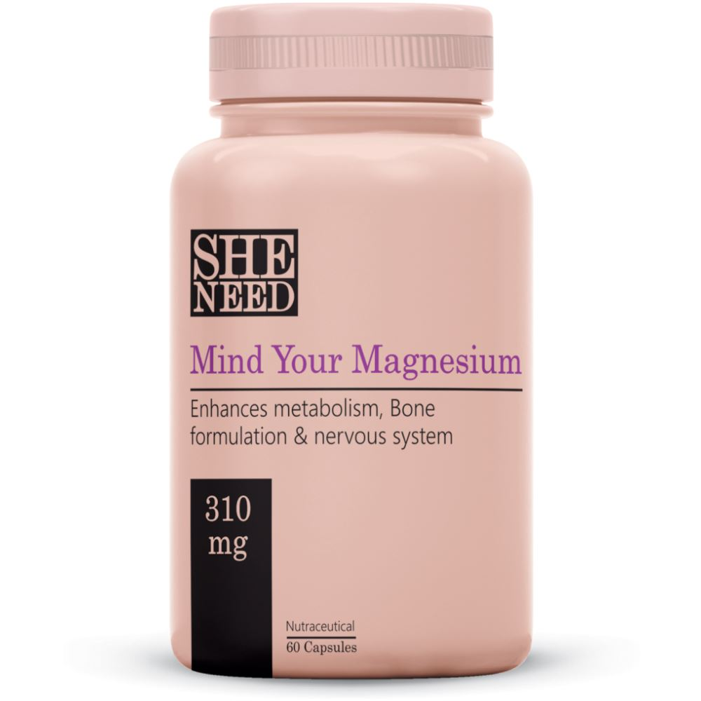 SheNeed Mind Your Magnesium Supplements (310Mg) (60caps)