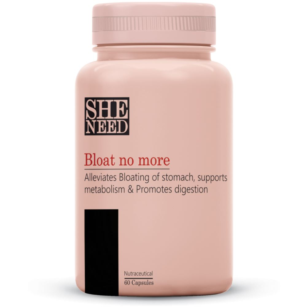 SheNeed Bloat No More Digestive Enzyme Supplement (60caps)