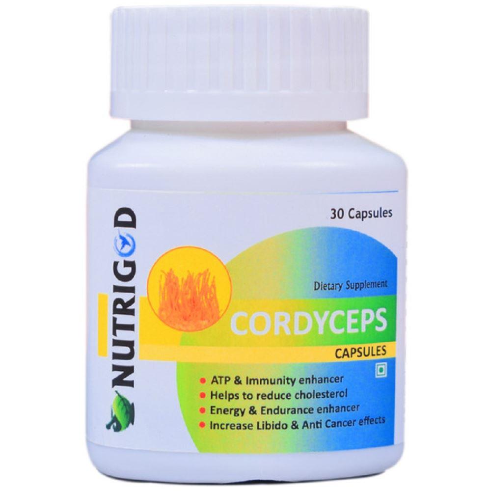 Nutrigod Cordyceps Militaris Capsules (30caps)