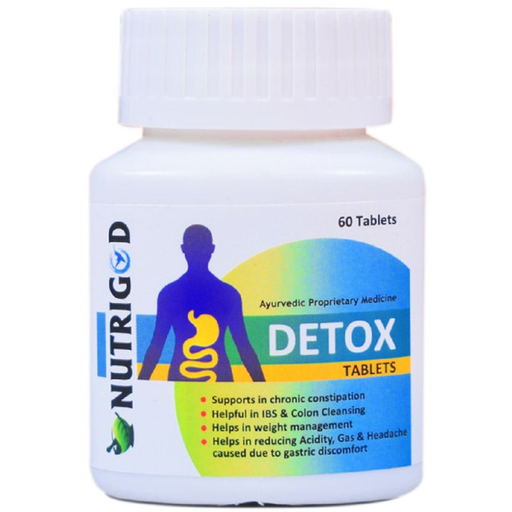 Nutrigod Detox Tablets (60tab)