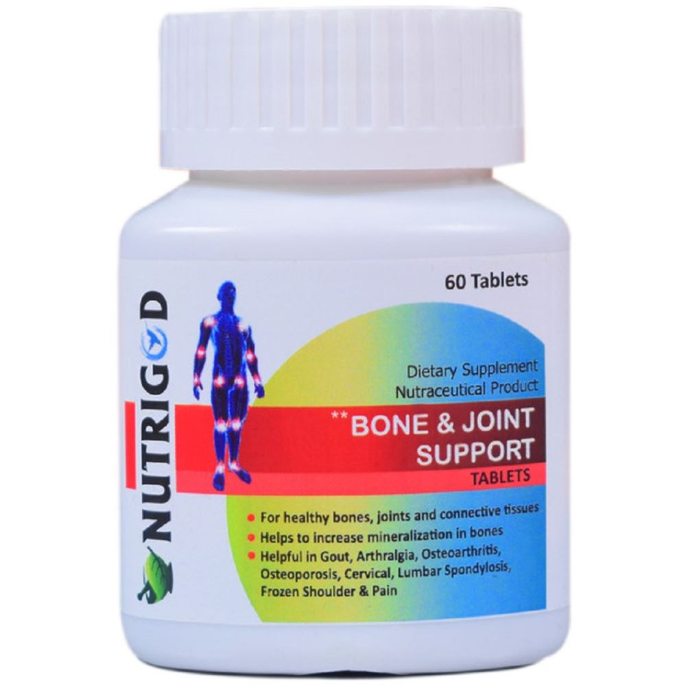 Nutrigod Bone & Joint Support Tablets (60tab)