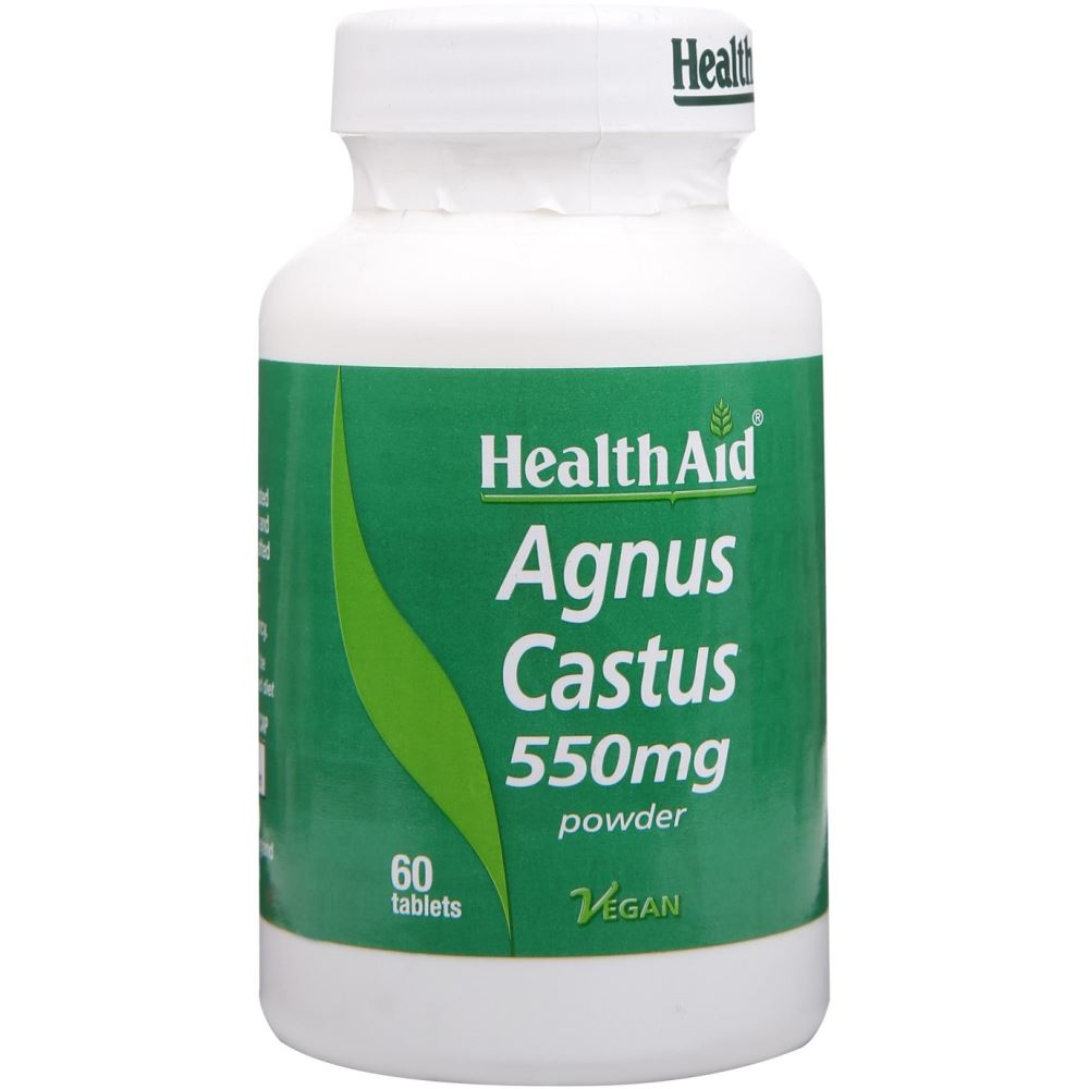 HealthAid Agnus Castus 550Mg Tablets (60tab)