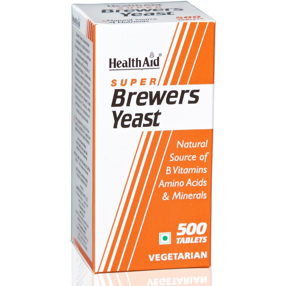 HealthAid Super Brewers Yeast Tablets (500tab)