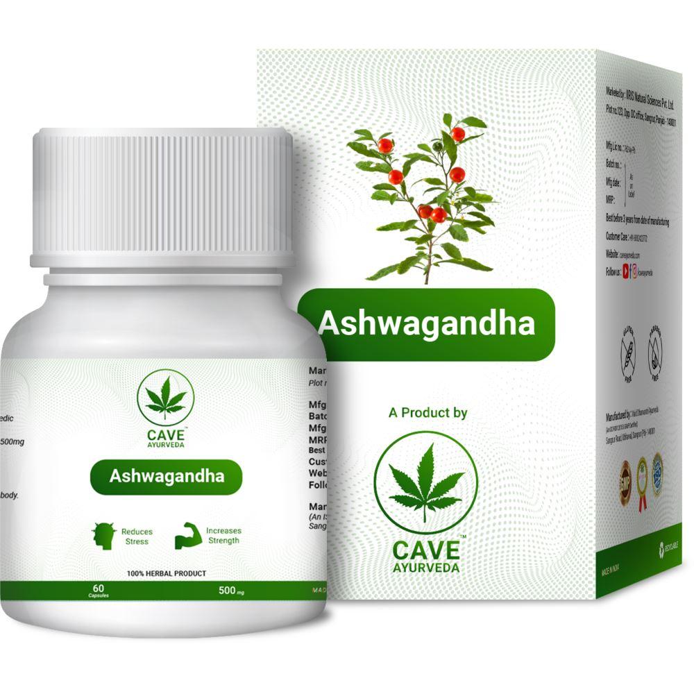 Cave Ayurveda Ashwagandha 500Mg (60caps)