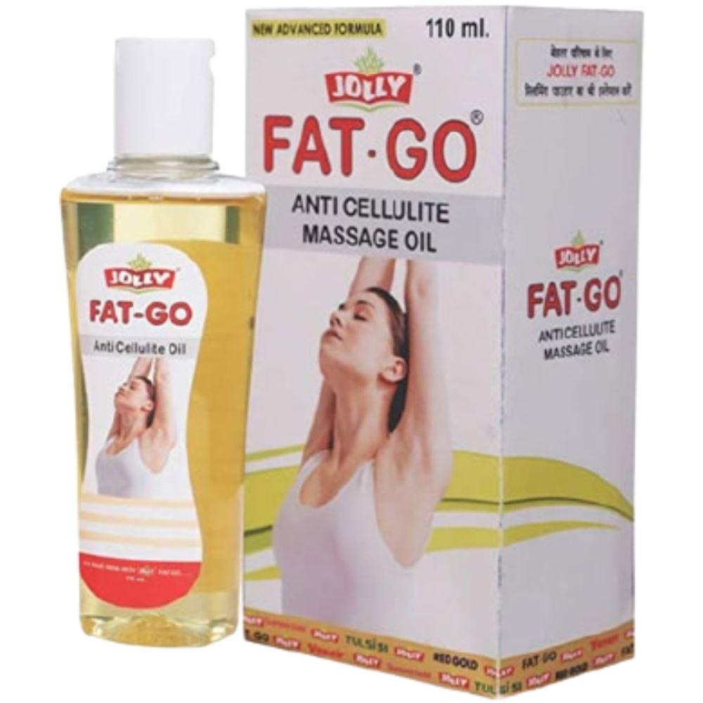 Jolly Fat Go Anti Cellulite Massage Oil (110ml)