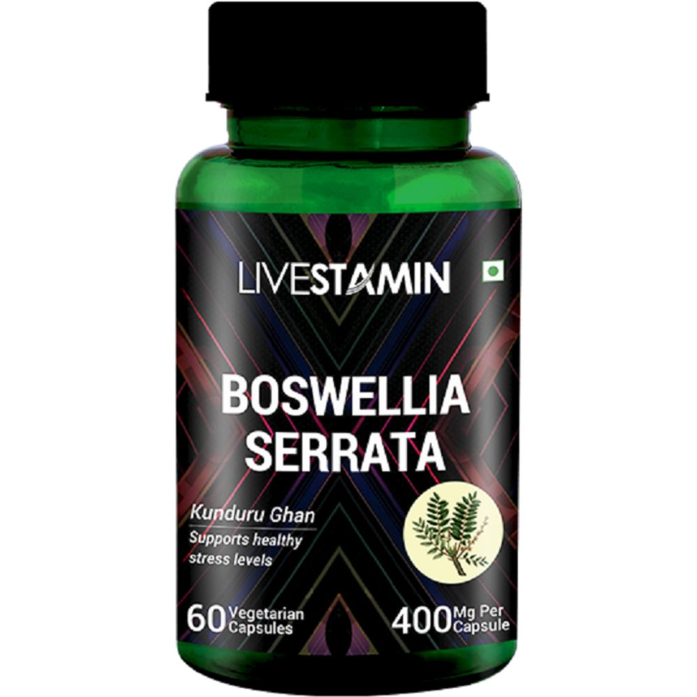 Livestamin Boswellia Serrata (60caps)