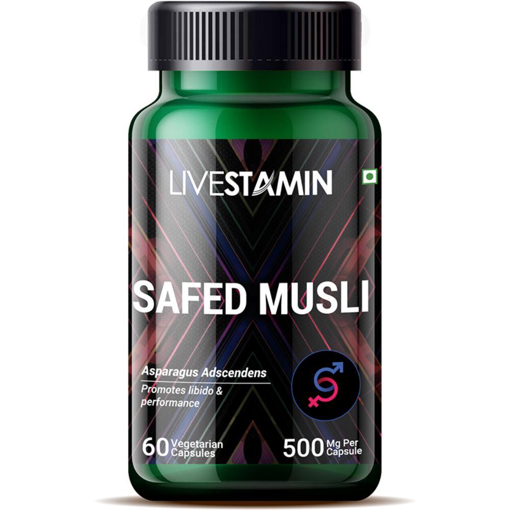 Livestamin Safed Musli (60caps)