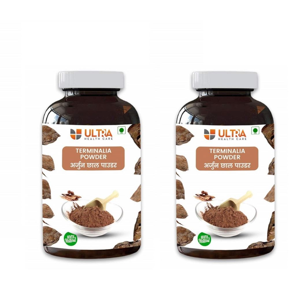 Ultra Healthcare Arjun Chhal Powder (180g, Pack of 2)