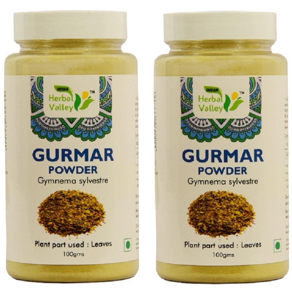 Indian Herbal Valley Gurmar Powder (100g, Pack of 2)