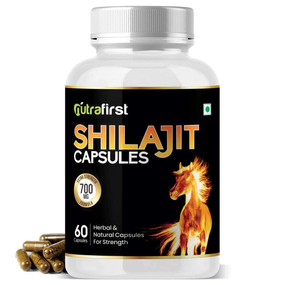 Nutra First Pure Shilajit Extract Capsules (60caps)