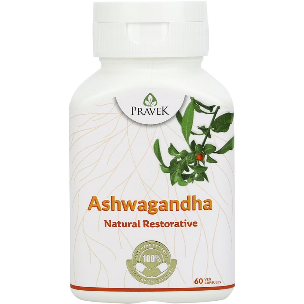Pravek Ashwagandha Capsules (60caps)