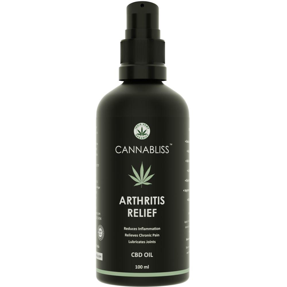 India Hemp Organics Cannabliss Arthritis Relief (100ml)