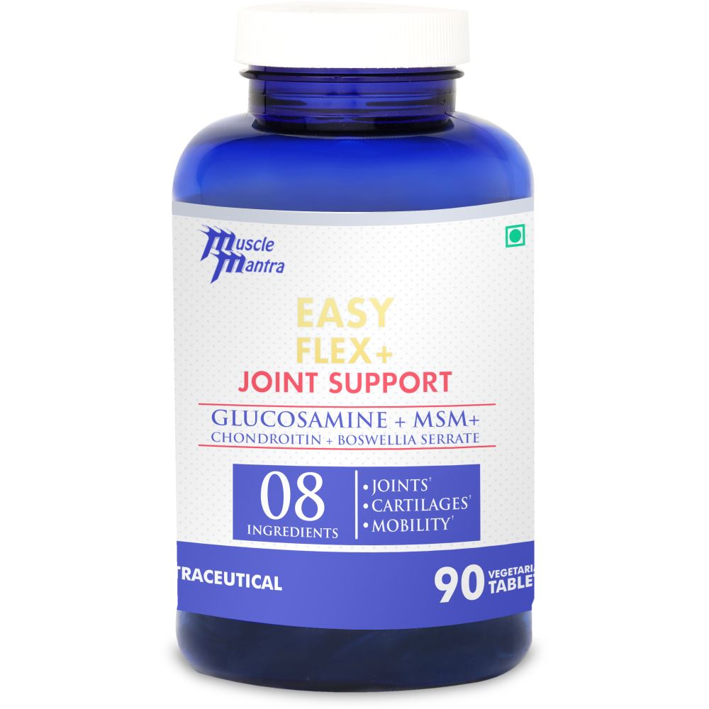 Muscle Mantra Easy Flex + Joint Support Tablets (90tab)