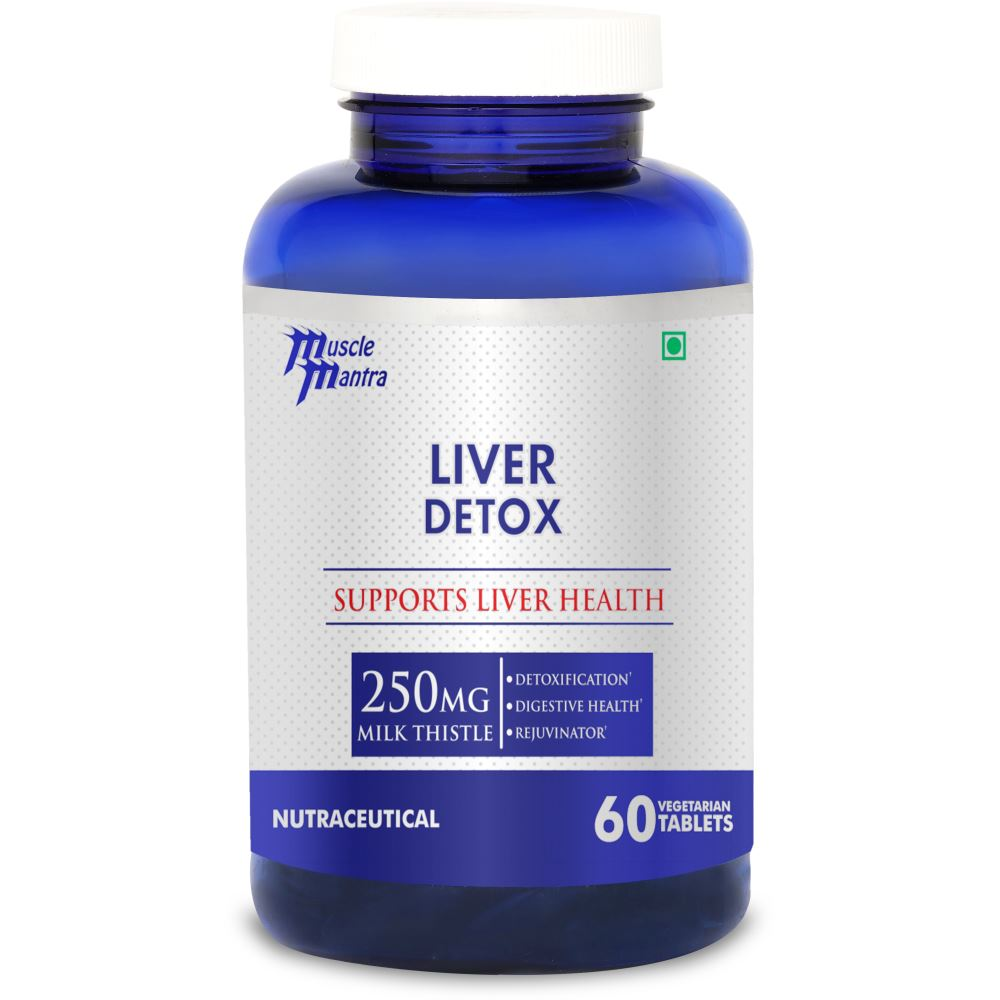 Muscle Mantra Liver Detox Tablets (60tab)