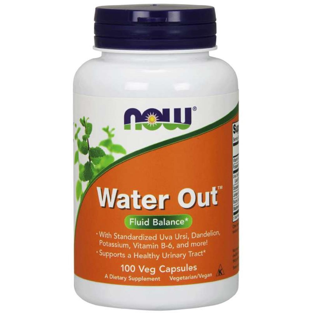 Now Foods Water out Fluid Balance Veg Capsules  (100caps)