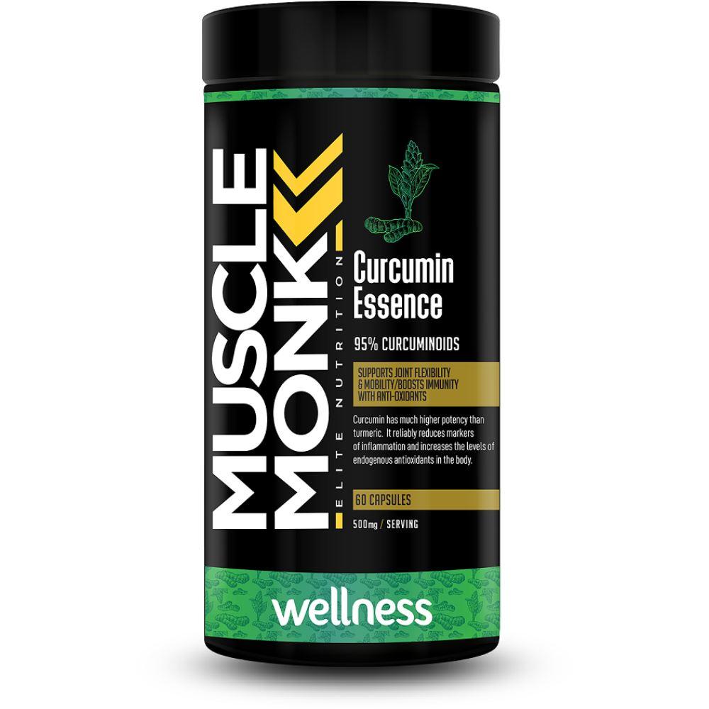 Muscle Monk Curcumin Essence 500Mg Capsules (60caps)