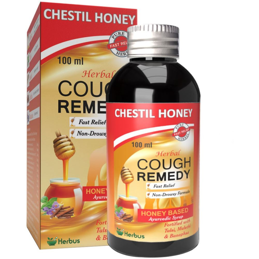 Herbus Chestil Honey Cough Remedy Syrup (100ml)