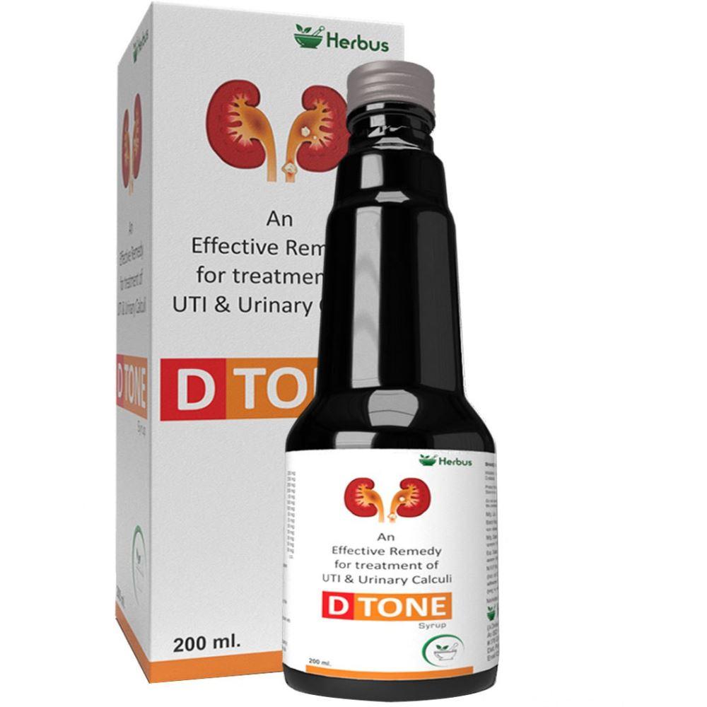Herbus D Tone Ayurvedic Herbal Syrup (200ml)