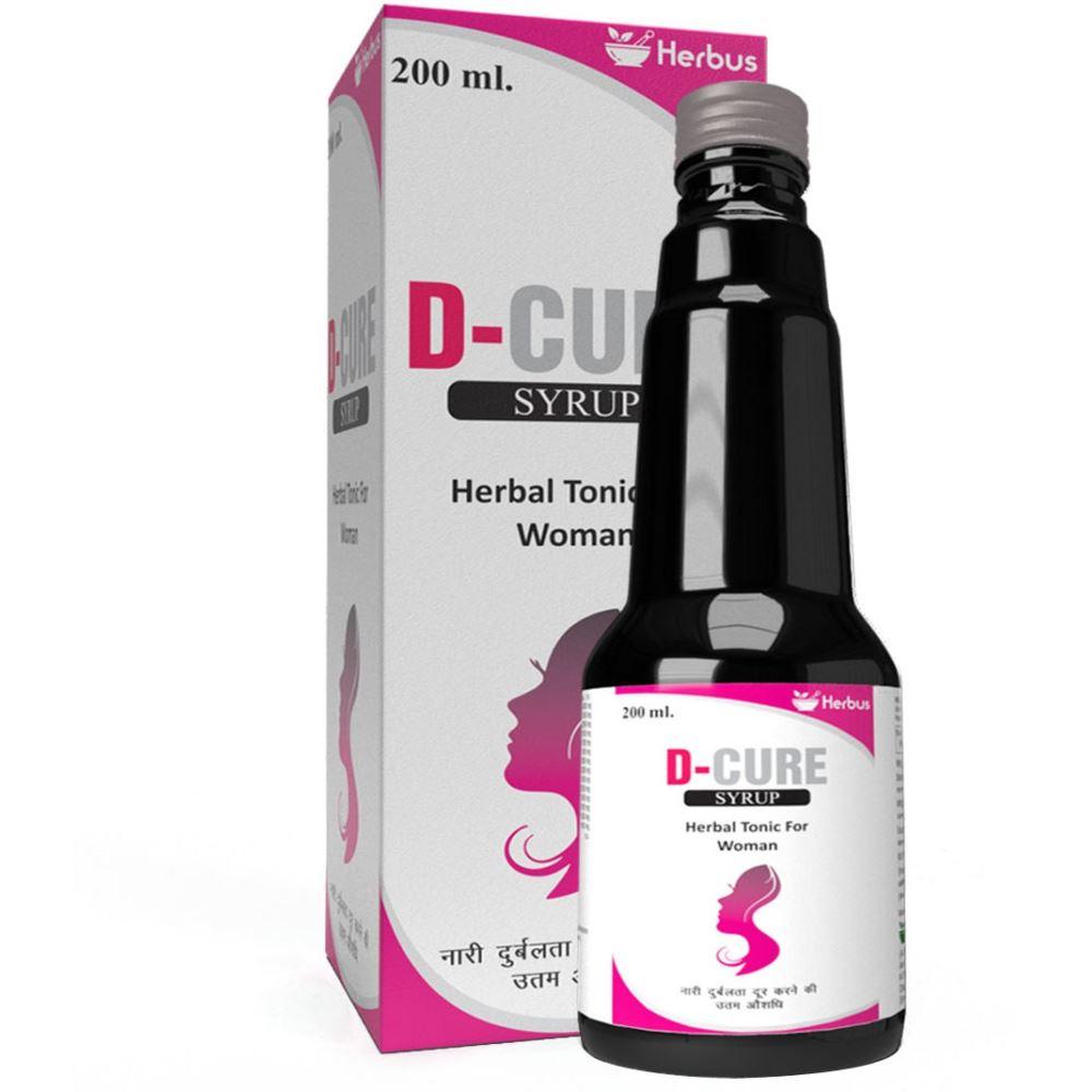 Herbus D Cure Herbal Women Syrup (200ml)