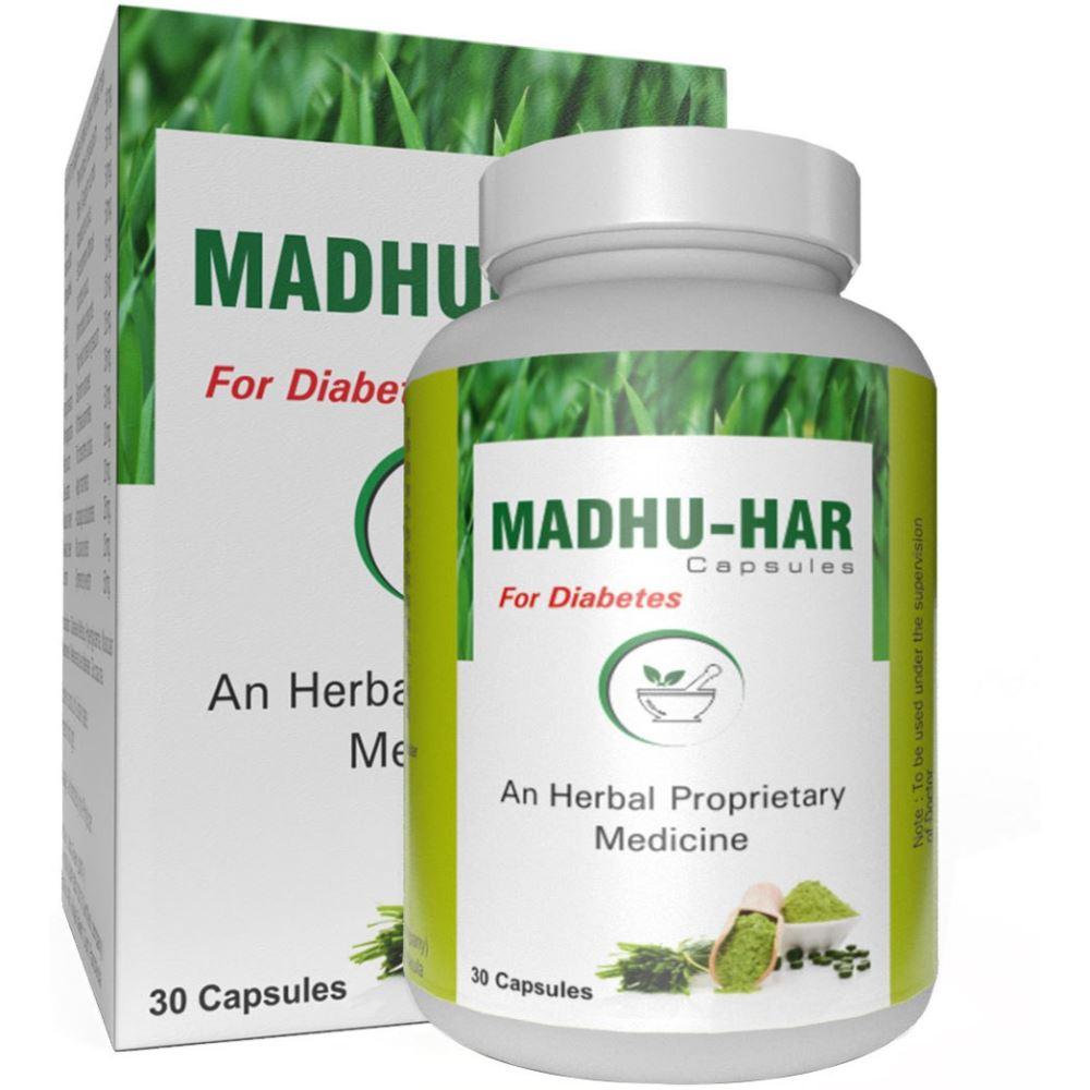 Ultra Healthcare Madhuhar Herbal Capsules (30caps)