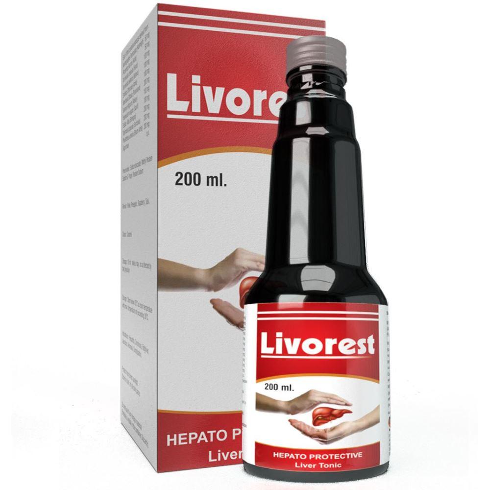 Ultra Healthcare Livorest Hepato Protective Liver Tonic (200ml)