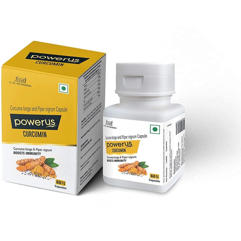 Powerus Curcumin Capsules (60caps)