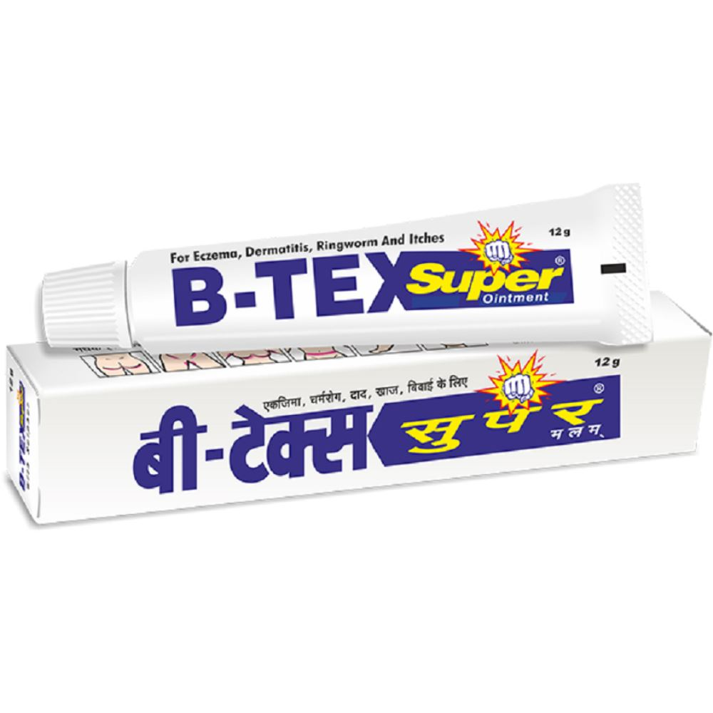 B Tex Super Ointment (12g, Pack of 6)
