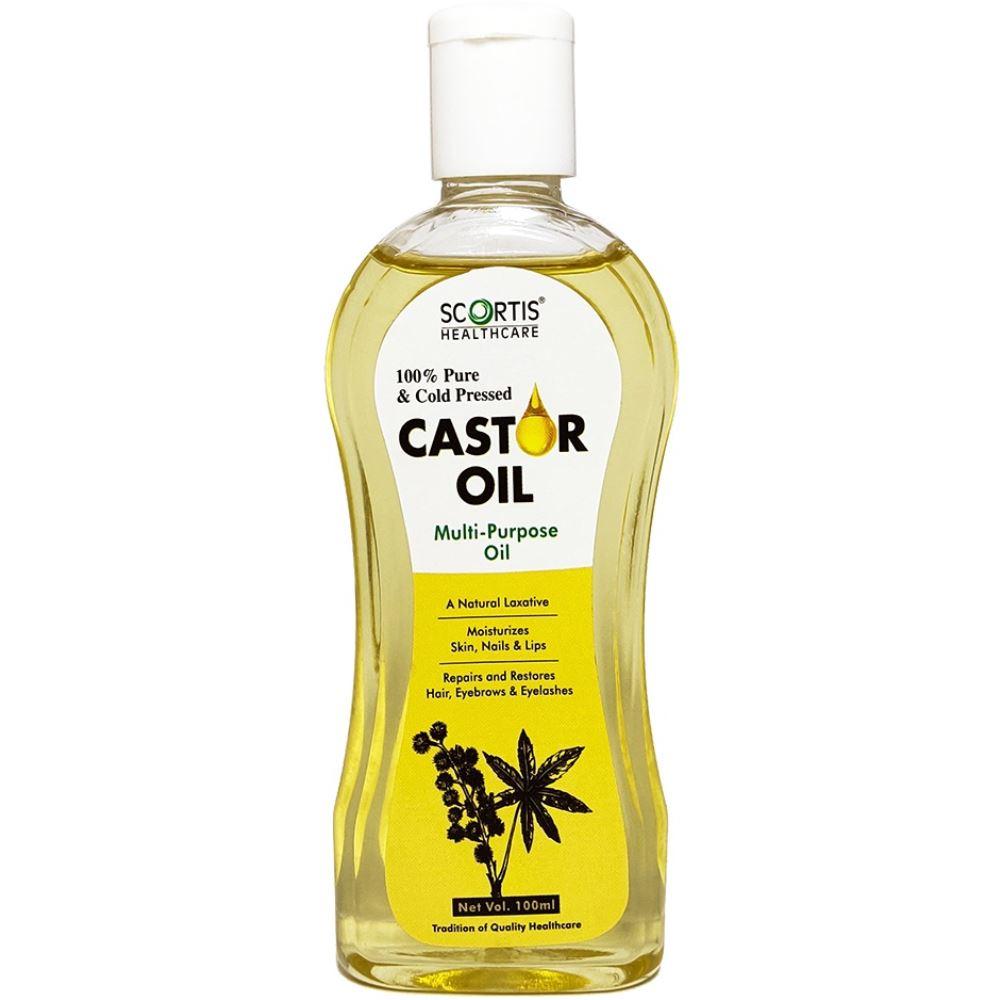 Scortis Castor Oil (100ml)