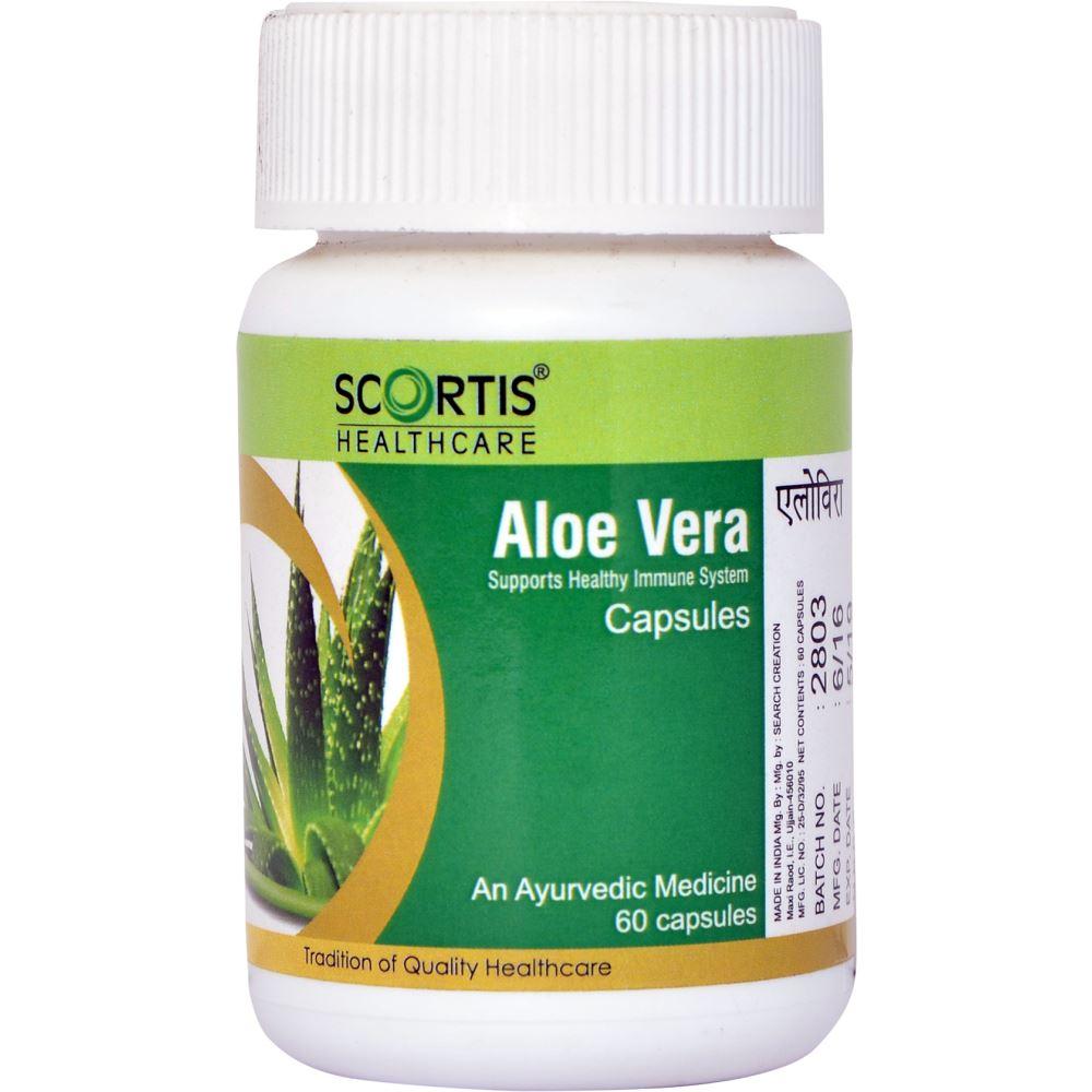 Scortis Aloe Vera Capsules (60caps)