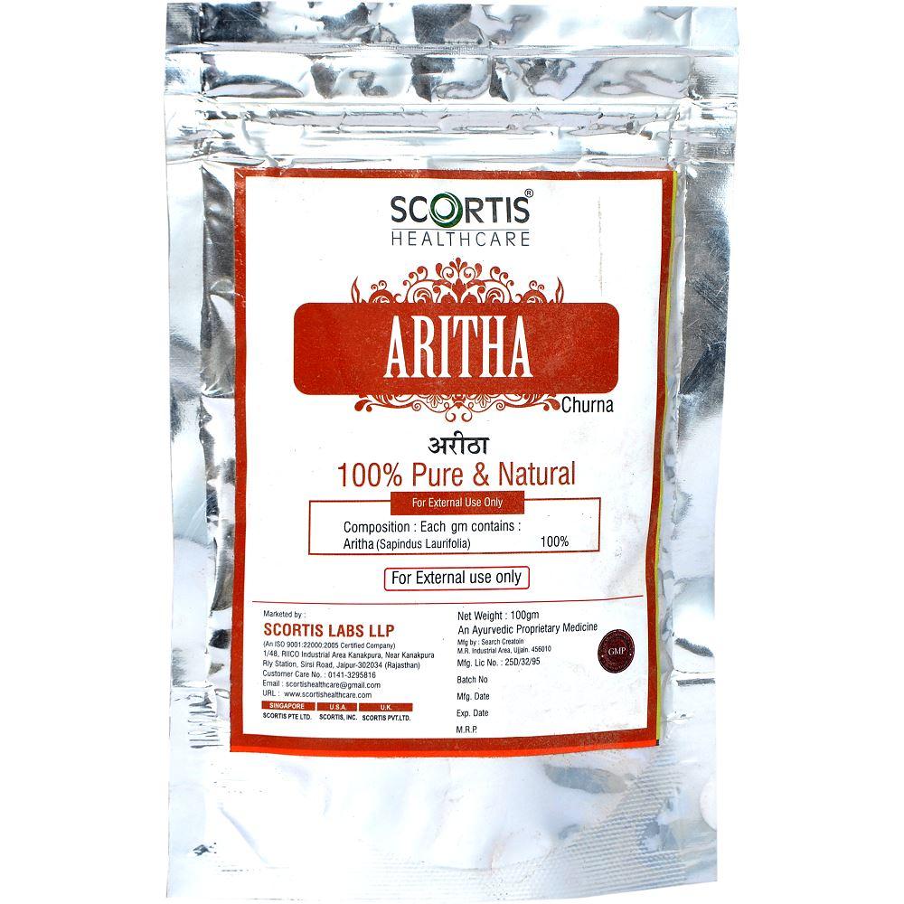 Scortis Aritha Churna Powder (100g)