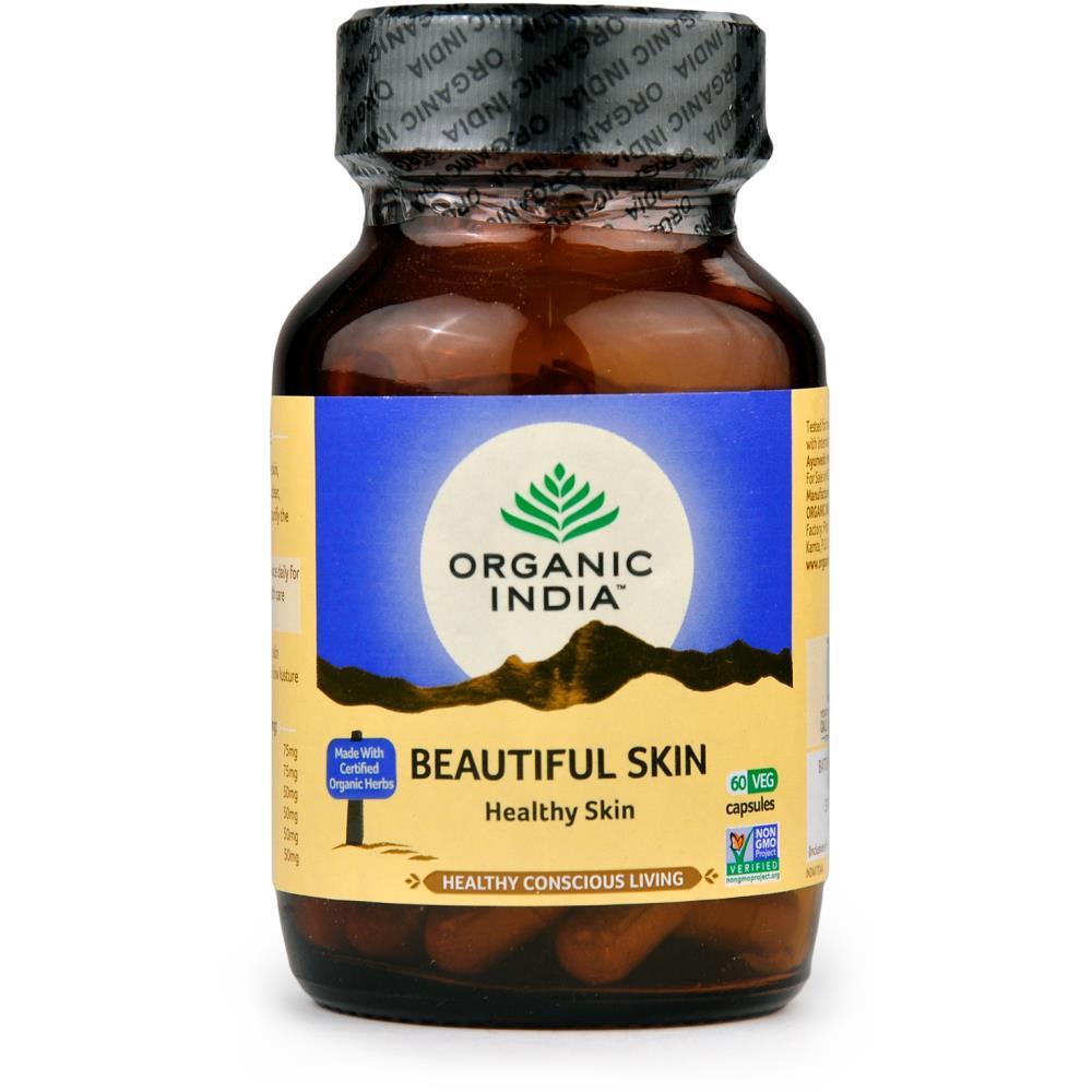 Organic India Beautiful Skin Capsules (60caps)