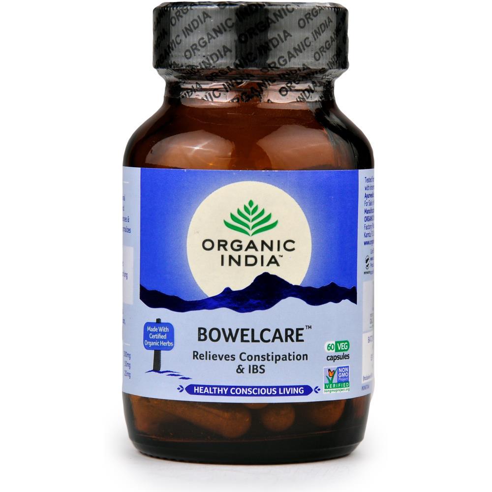 Organic India Bowel Care Capsules (60caps)