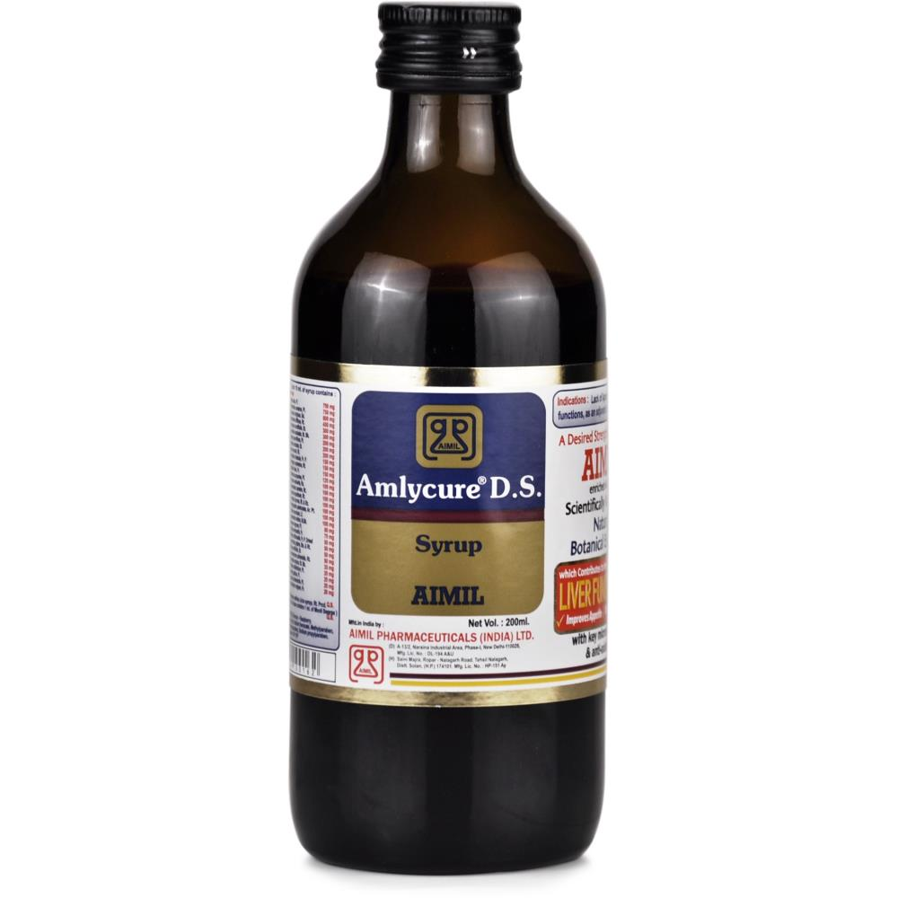 Aimil Amlycure D.S. Syrup (200ml)