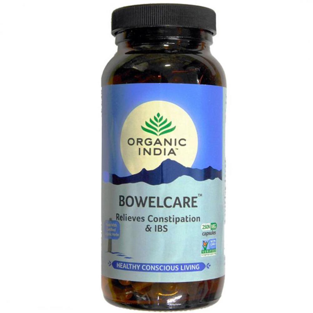 Organic India Bowel Care Capsules (250caps)
