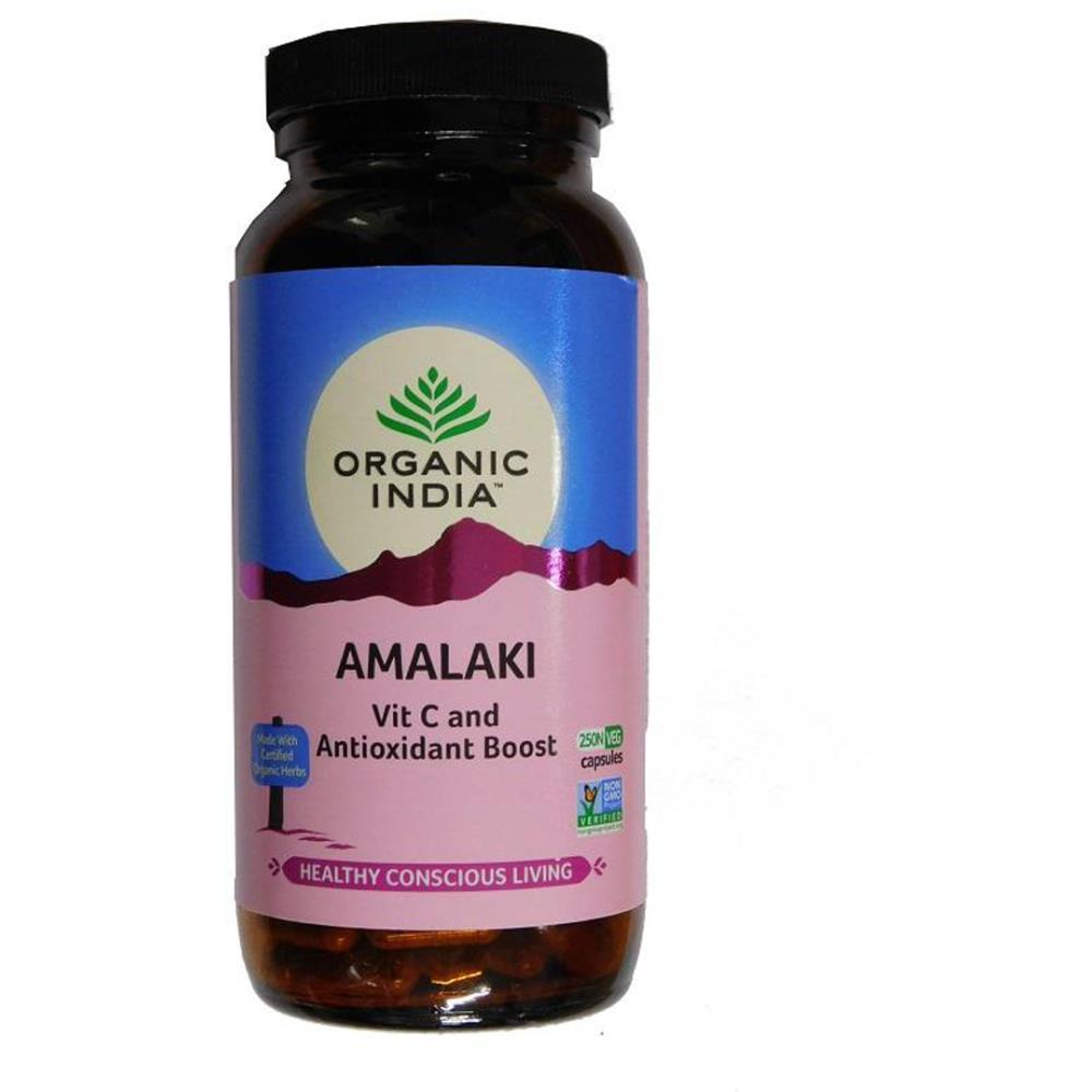 Organic India Amalaki Capsules (250caps)