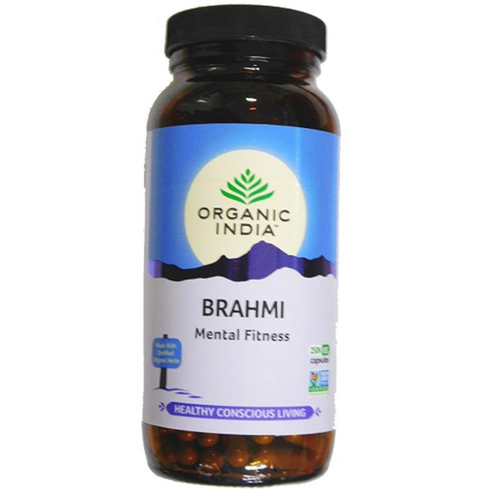 Organic India Brahmi Capsules (250caps)