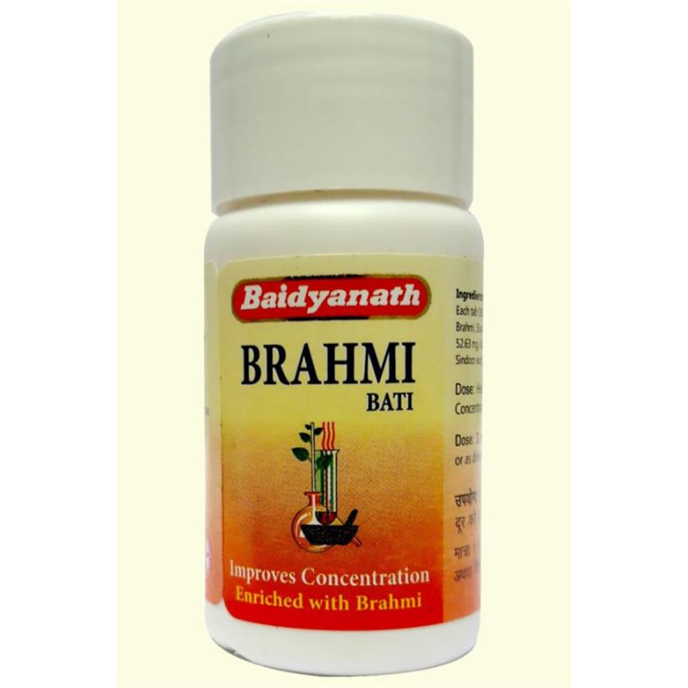 Baidyanath Brahmi Vati (Buddhi Vardhak) (20tab)