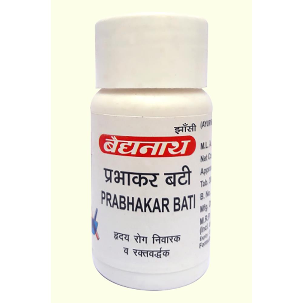Baidyanath Prabhakar Bati (20tab)