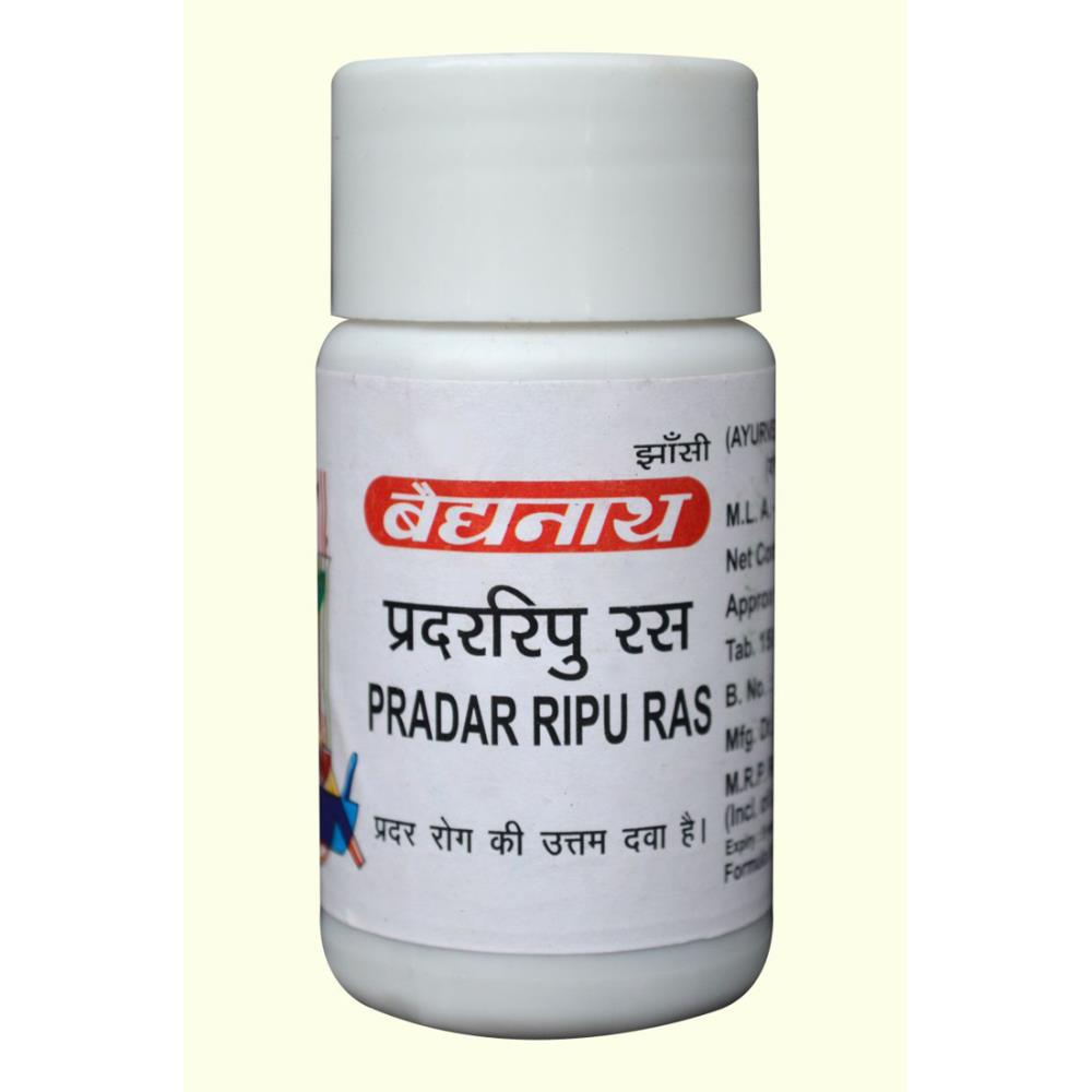 Baidyanath Pradarripu Ras (80tab)