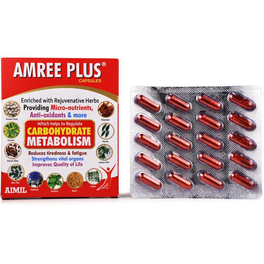 Aimil Amree Plus Capsule (20caps)