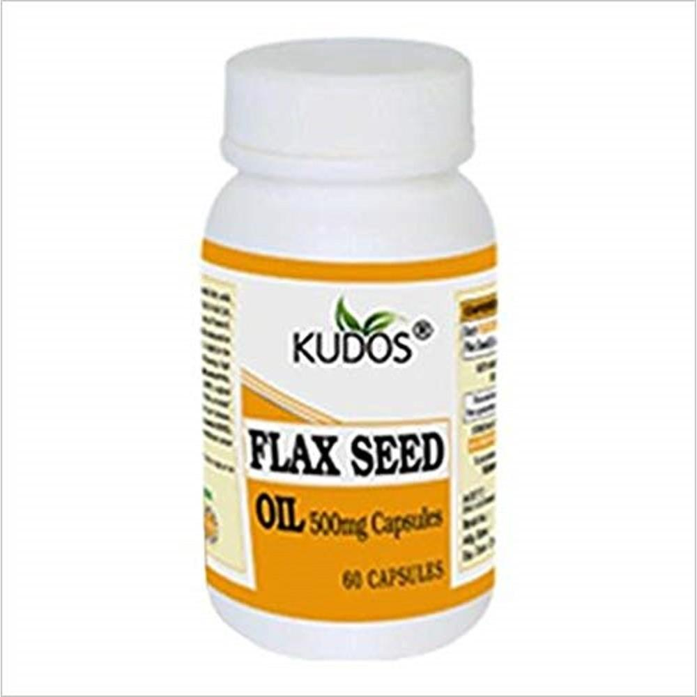 Kudos Flaxseed Oil Cap (60caps)