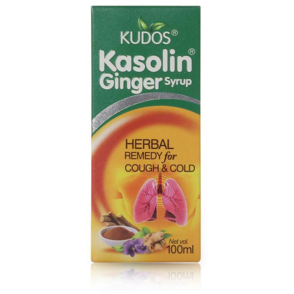 Kudos Kasolin Ginger Syrup (100ml)
