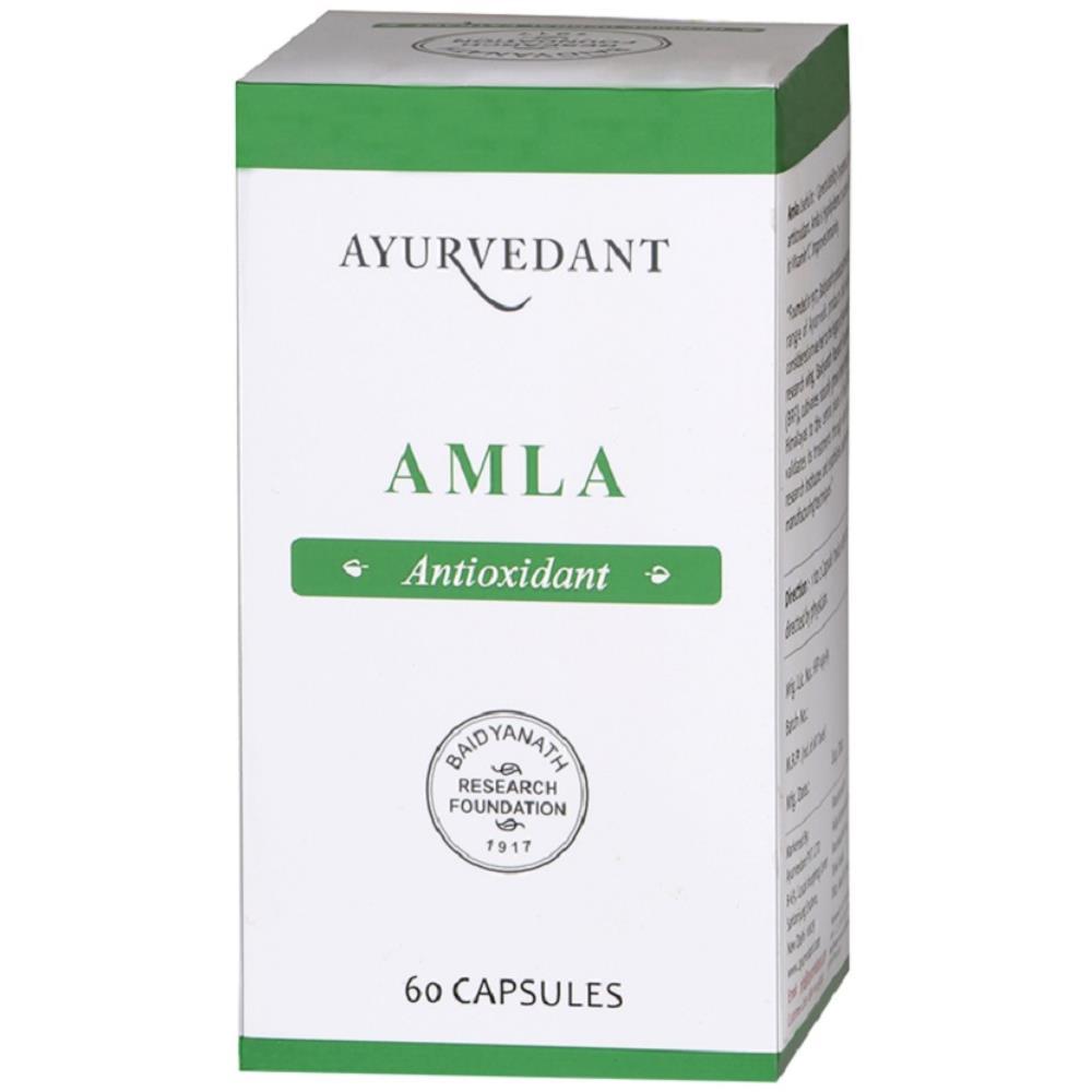 Baidyanath Ayurvedant Amla Capsule (60caps)