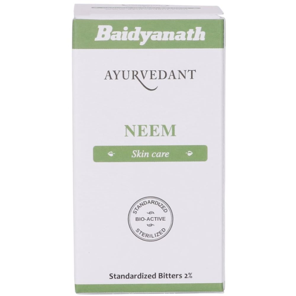 Baidyanath Ayurvedant Neem Tablets (60caps)